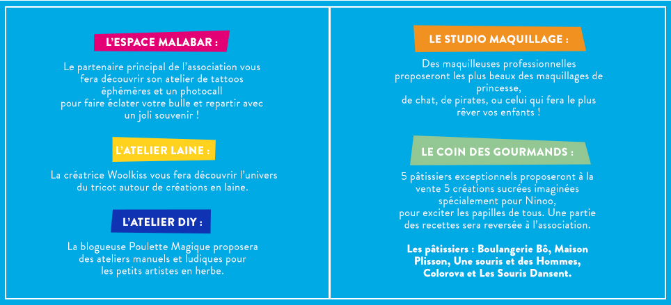 calendrier des évènements happy blue day 2016