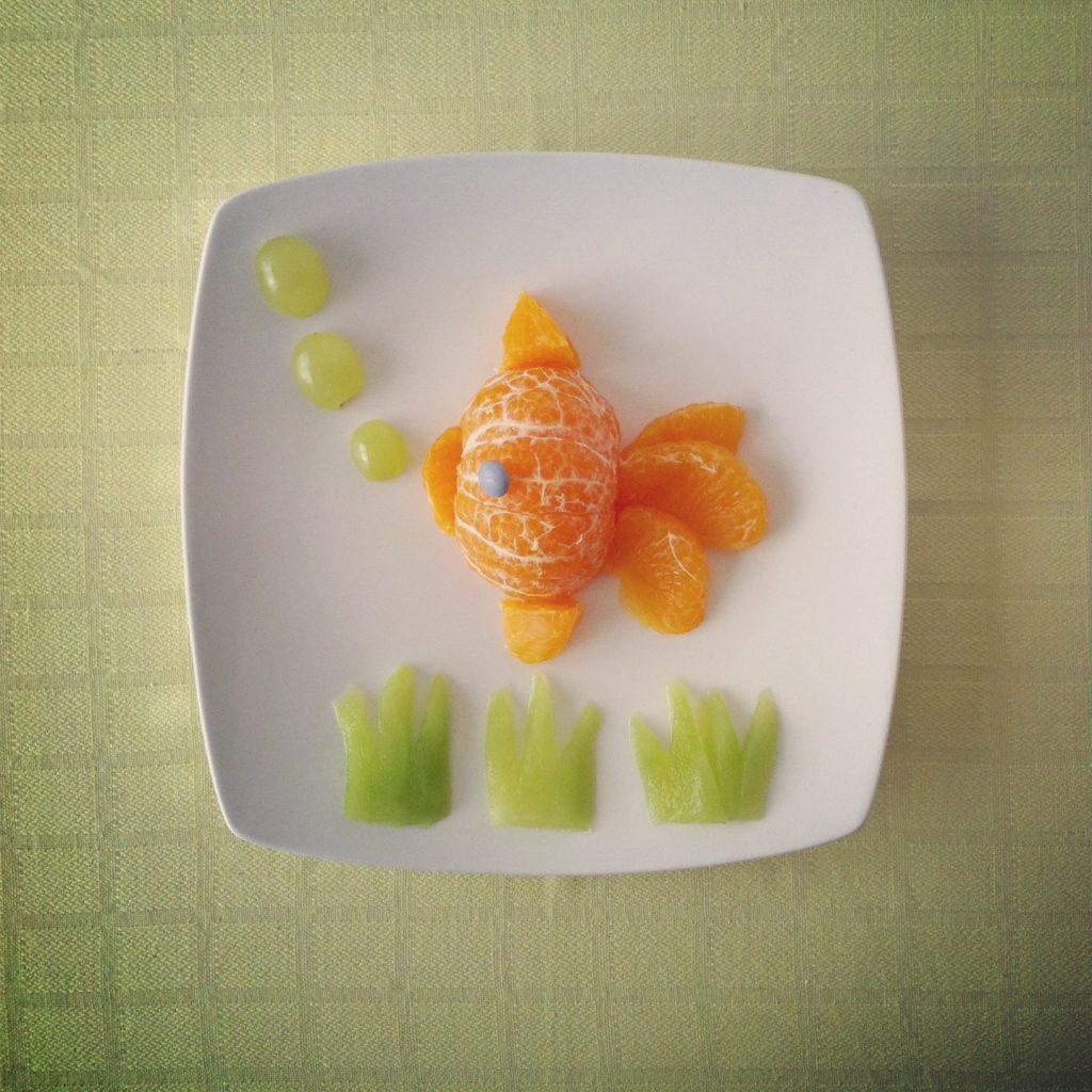 Le poisson mandarine