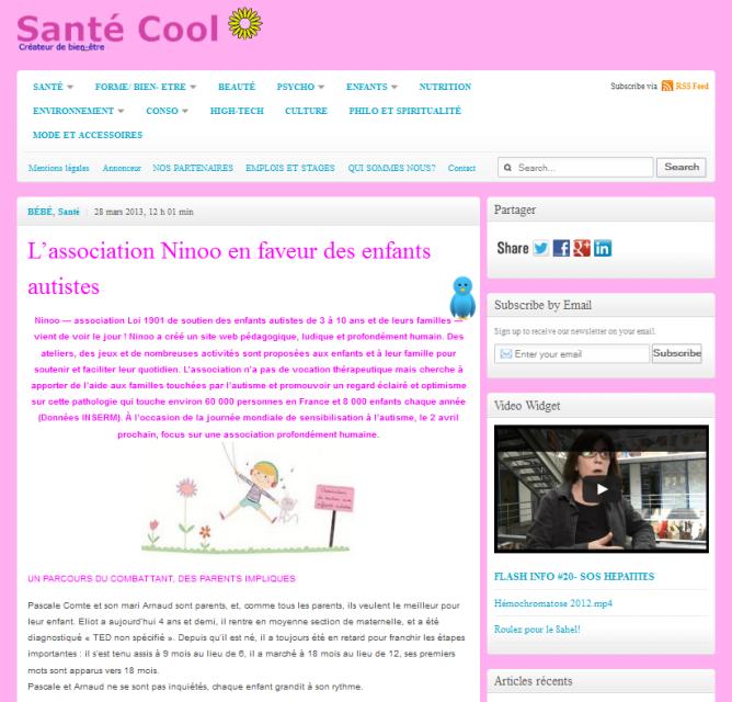 santé cool 28-03-2103