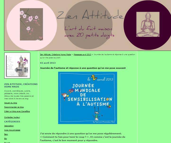 zen attitude 2 avril 2013