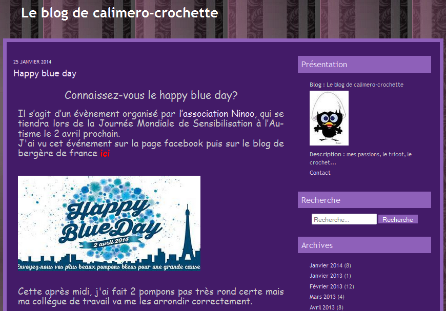 le blog de calimero-crochette 25-01-2014